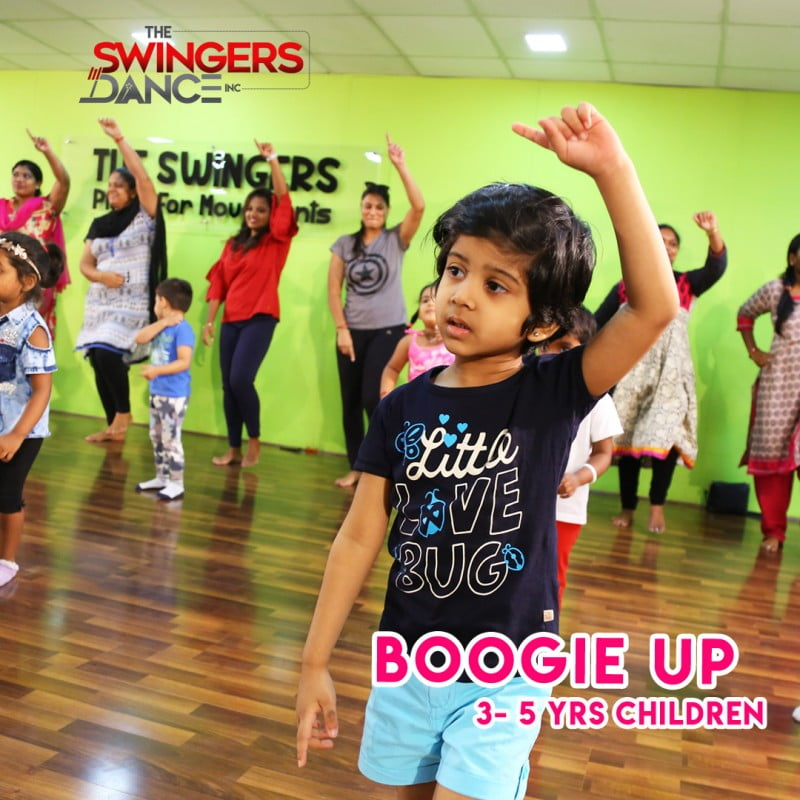 3-5 Years Boogie up – For Kids & Mommy